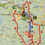Try a Sportive Belper Map